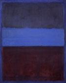 No 61 Rust and Blue 1953 - Mark Rothko