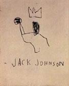 Jack Johnson 1982 - Jean-Michel-Basquiat