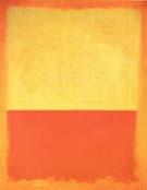 No 12 1954 Yellow Orange Red on Orange - Mark Rothko