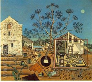 The Farm - Joan Miro reproduction oil painting
