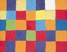 Paul Klee Farbtafel - Paul Klee reproduction oil painting