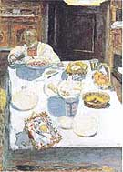 The Table 1925 - Pierre Bonnard reproduction oil painting