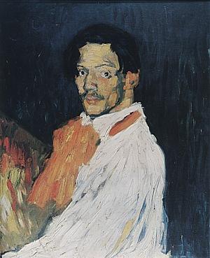 Self Portrait Yo Picasso - Pablo Picasso reproduction oil painting