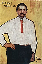 Pedro Manach  1901 - Pablo Picasso reproduction oil painting