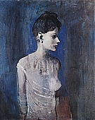 Woman in a Chemise  1905 - Pablo Picasso reproduction oil painting