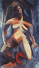 The Dryad  1908 - Pablo Picasso reproduction oil painting