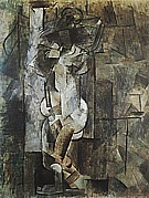 NUDE  1910 - Pablo Picasso reproduction oil painting