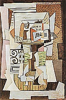 Still Life on a Table  1920 - Pablo Picasso reproduction oil painting