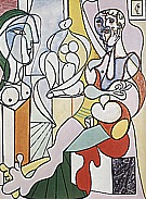 The Sculptor  1931 - Pablo Picasso reproduction oil painting