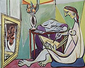 The Muse  1935 - Pablo Picasso reproduction oil painting