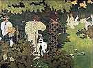 Twilight (The Croquet Party) - Pierre Bonnard