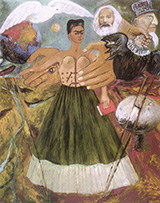 Marxism Will Give Health to the Sick 1954 - Frida Kahlo