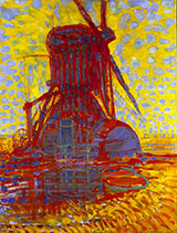 Windmill in Sunlight 1908 - Piet Mondrian