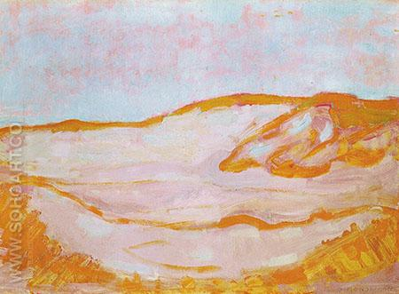 Dune IV c1909 - Piet Mondrian reproduction oil painting