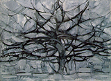 The Grey Tree 1912 - Piet Mondrian