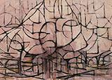 Trees in Blossom 1912 - Piet Mondrian