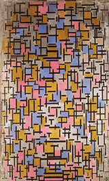 Composition 1916 - Piet Mondrian reproduction oil painting