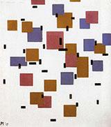 Composition in Colour A 1917 - Piet Mondrian