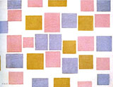 Composition with Color Planes No3 1917 - Piet Mondrian