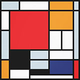 Composition with Red Yellow Blue and Black 1921 - Piet Mondrian reproduction oil painting