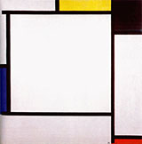 Composition 2 1922 - Piet Mondrian reproduction oil painting
