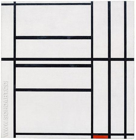 Composition 1939 - Piet Mondrian reproduction oil painting