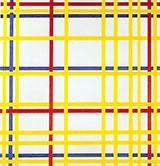 New York City I 1942 - Piet Mondrian