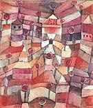 Rose Garden 1920 - Paul Klee reproduction oil painting