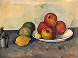 Still Life with Apples 1890 - Paul Cezanne reproduction oil painting