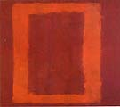 Seagram Sketch 1958 Red on Maroon - Mark Rothko