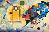 Yellow Red Blue 1925 - Wassily Kandinsky reproduction oil painting