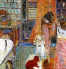 La toilette (The Bathroom) - Pierre Bonnard