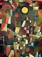 Full Moon 1919 - Paul Klee reproduction oil painting