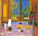 The Dining Room on the Garden 1934 - Pierre Bonnard