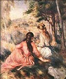 In the Meadow - Pierre Auguste Renoir reproduction oil painting