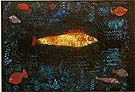 The Golden Fish - Paul Klee reproduction oil painting