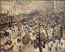 Boulevard des Italiens, Morning Sunlight 1897 - Camille Pissarro reproduction oil painting