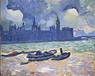 Houses of Parliament at Night 1906 - Andre Derain
