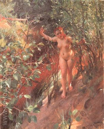Red Sand - Anders Zorn reproduction oil painting