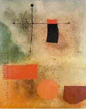 Abstrait - Joan Miro reproduction oil painting