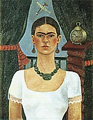Self Portrait 1925 - Frida Kahlo