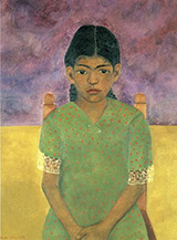 Portrait of Virginia Nina 1929 - Frida Kahlo