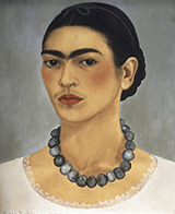 Self Portrait 1933 - Frida Kahlo