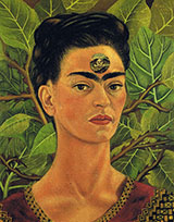 Thinking About Death 1943 - Frida Kahlo