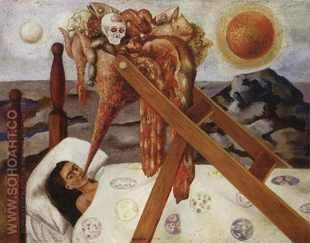 Without Hope 1945 - Frida Kahlo reproduction oil painting