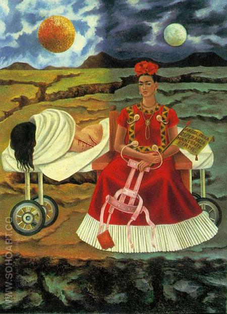 Tree of Hope 1946 - Frida Kahlo reproduction oil painting