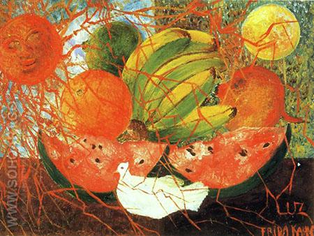 Fruit of Life 1954 - Frida Kahlo reproduction oil painting