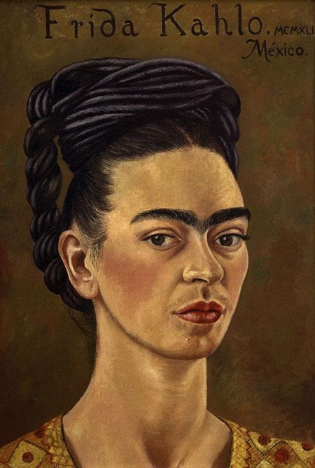 Self Portrait 1941 - Frida Kahlo reproduction oil painting