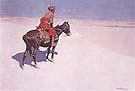 The Scout Friends or Enemies - Frederic Remington reproduction oil painting