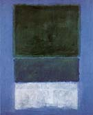 No 14 White and Greens in Blue 1957 - Mark Rothko